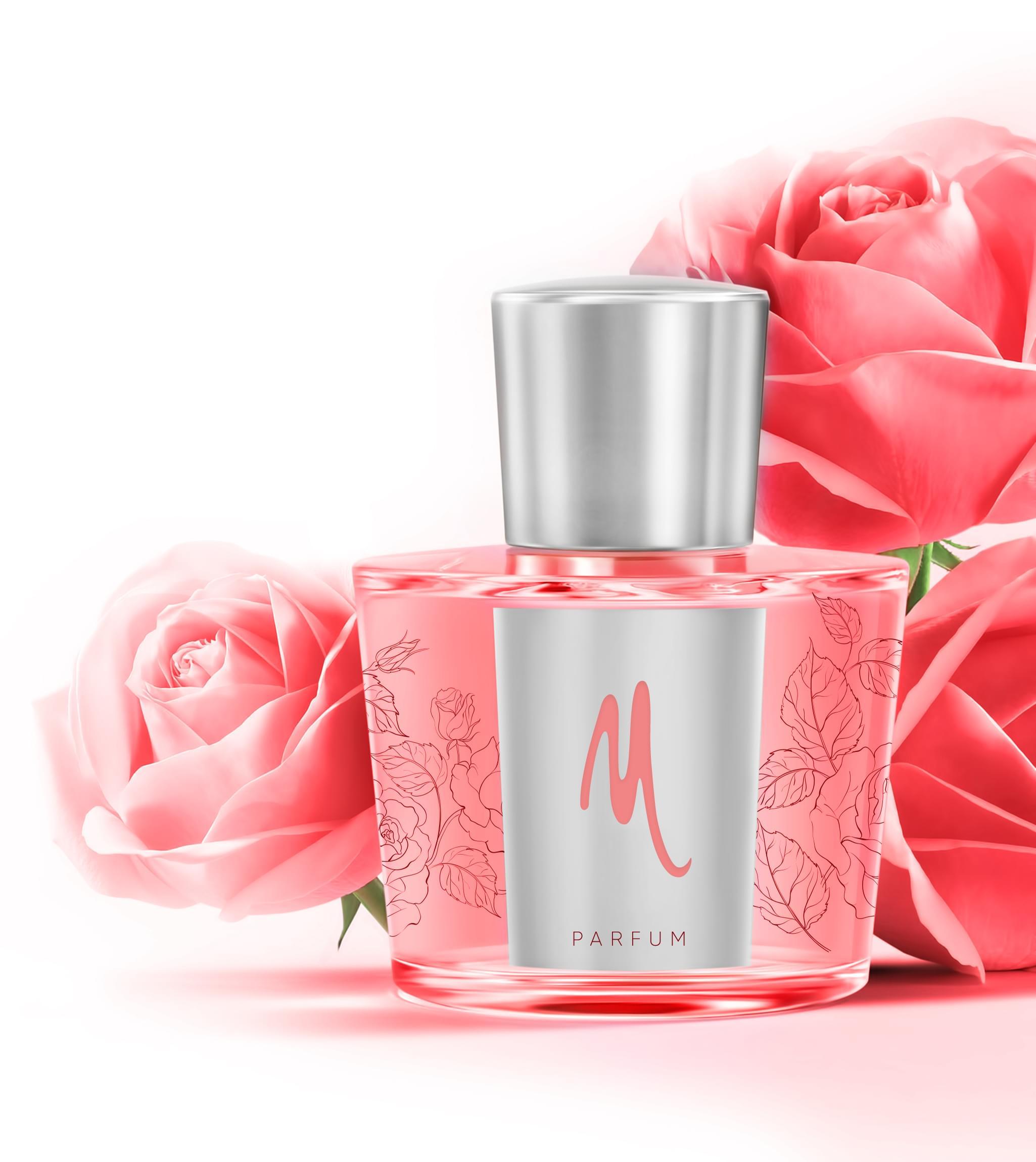 Perfume label Design
