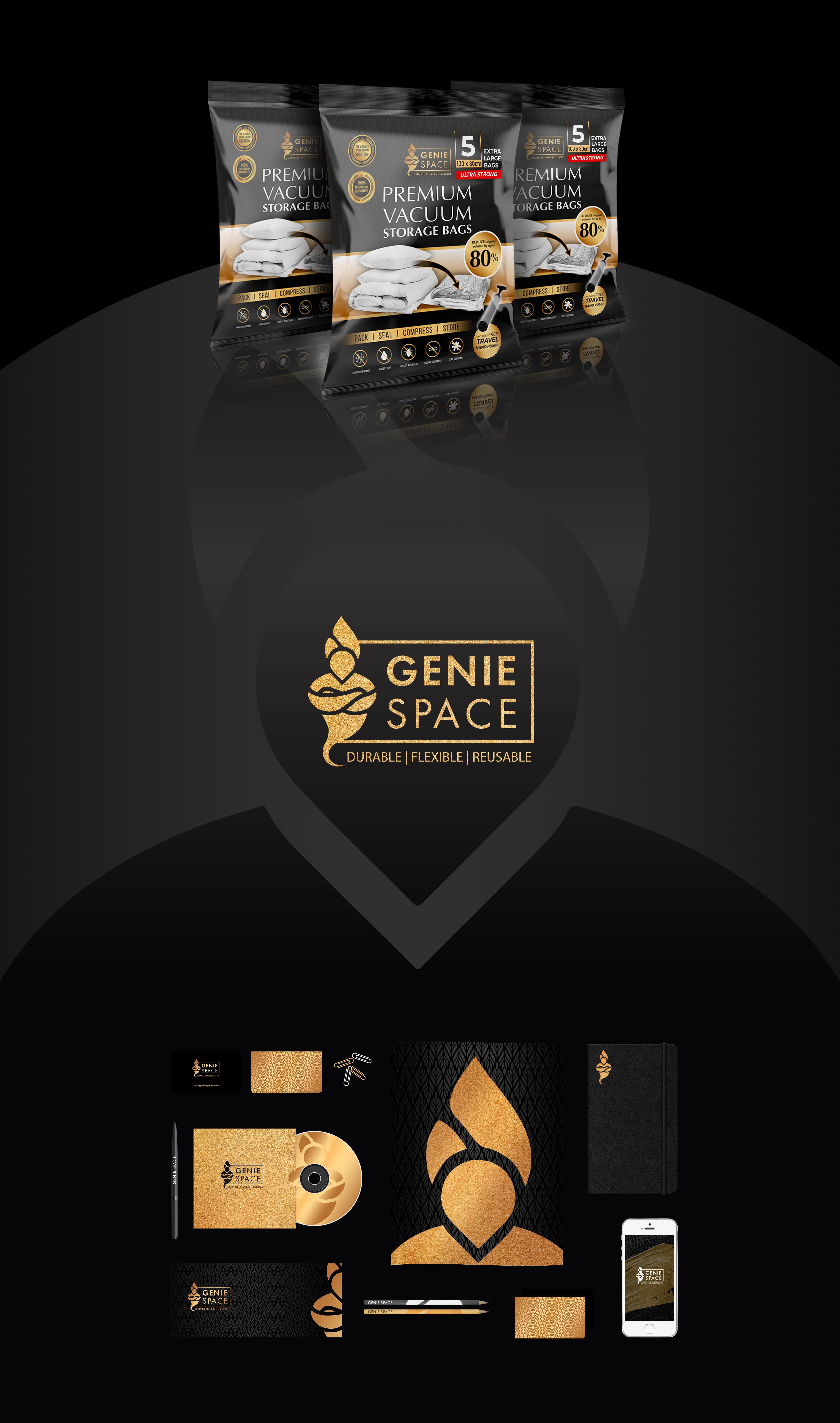 Genie Space | Get Your Creative Brand 2021 | Branding Agency Branding