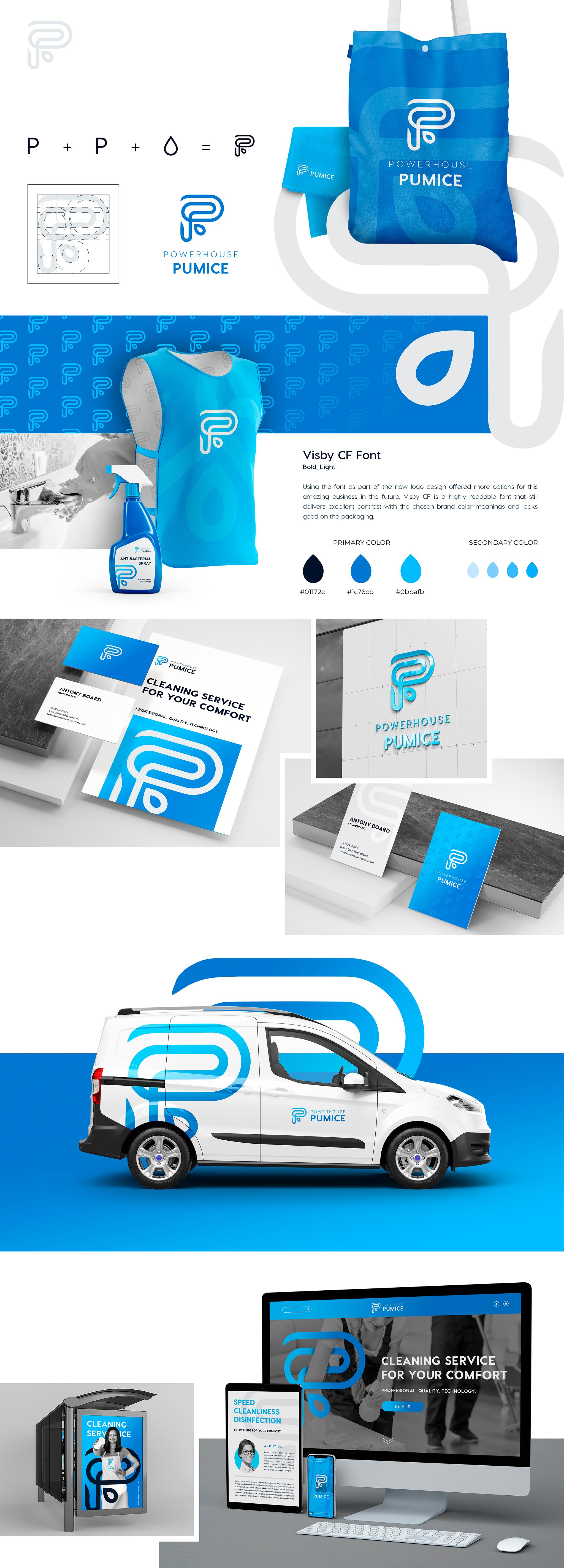 Powerhouse Pumice   Get #1 Branding Your Business   Branding Agency Branding