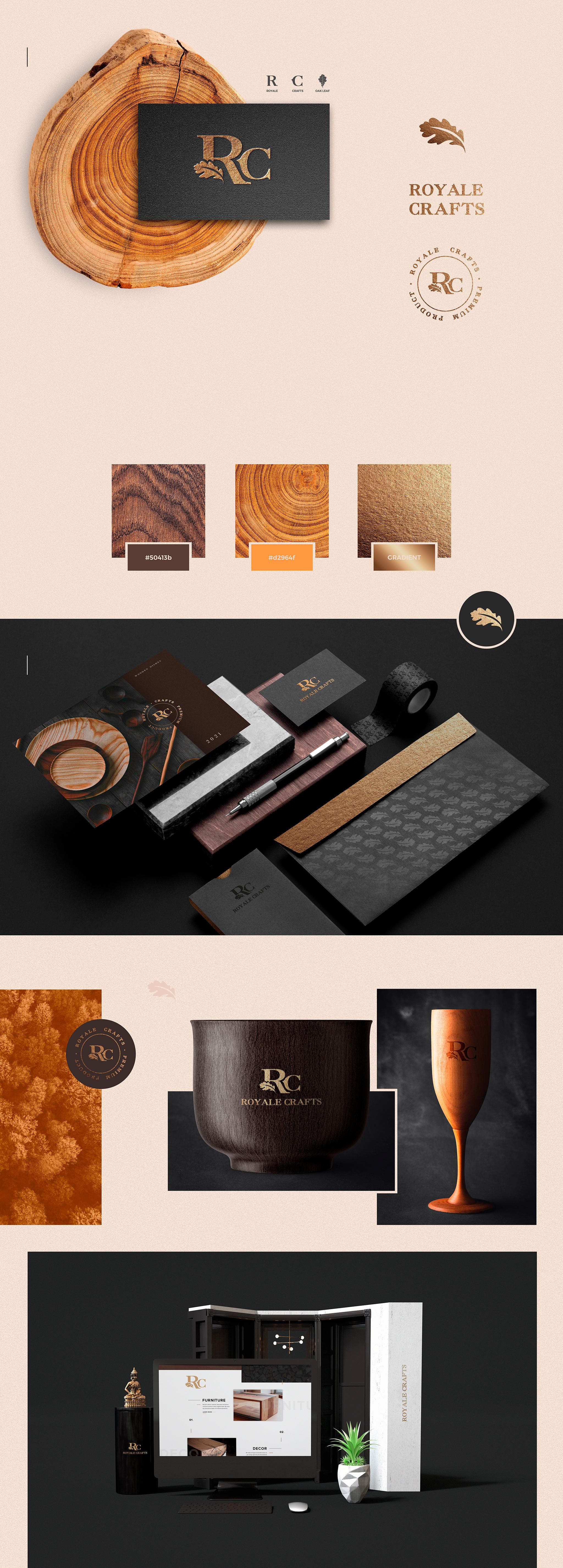 Royale Crafts   Order #1 Personal Branding   Branding Agency Branding