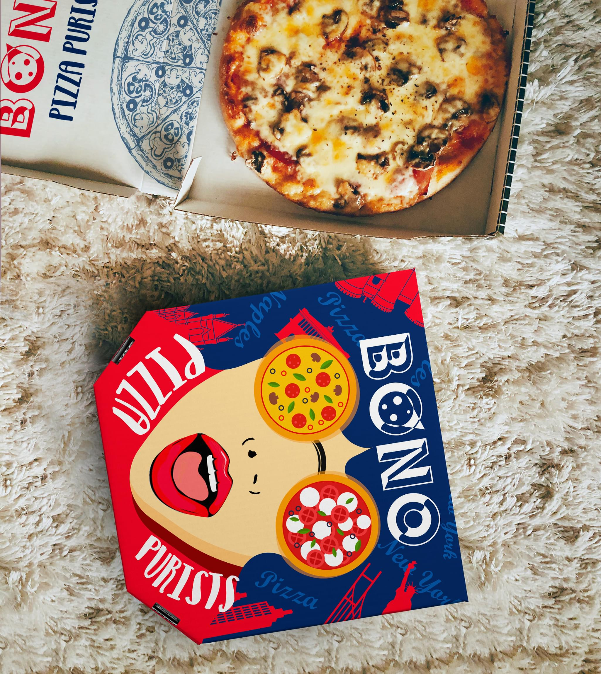 Bono pizza Packaging