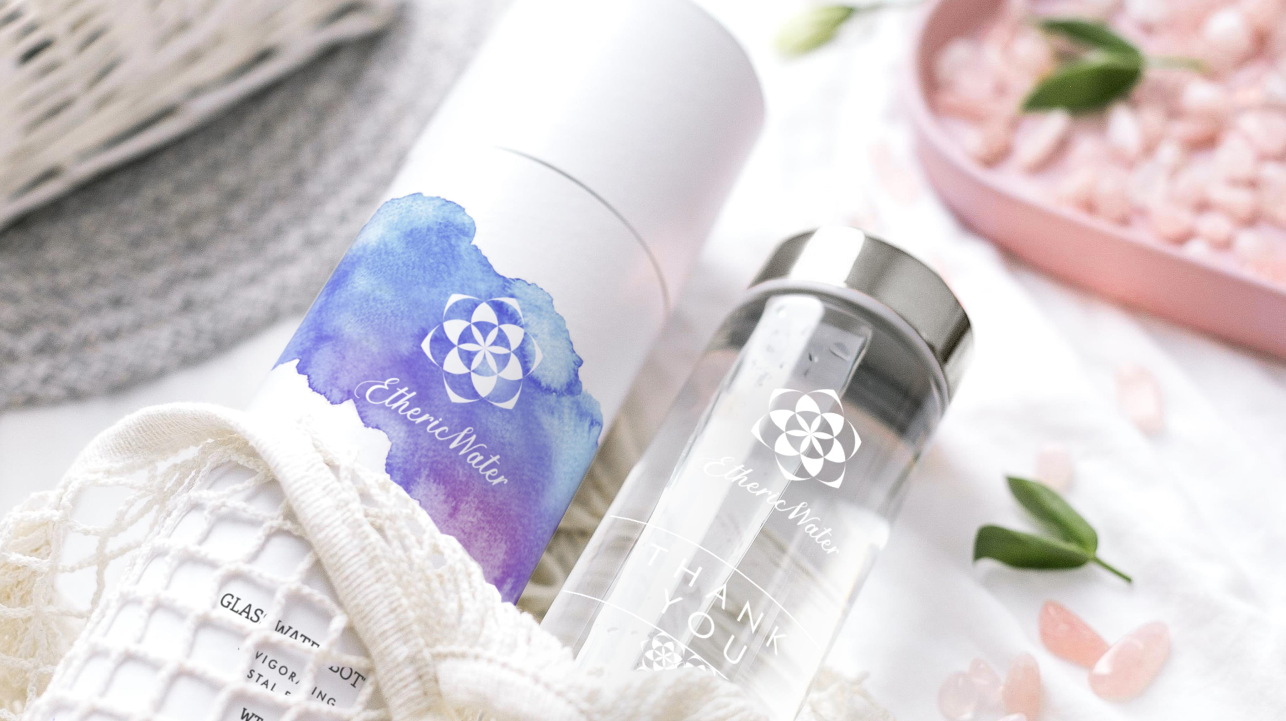 ETHERIC WATER Packaging