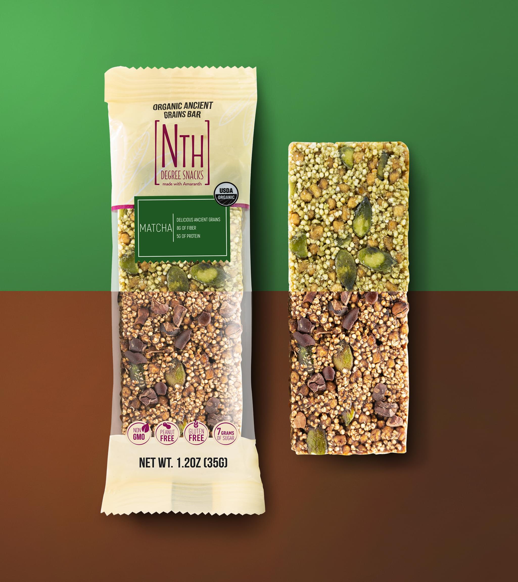 NTH DEGREE SNACKS Packaging