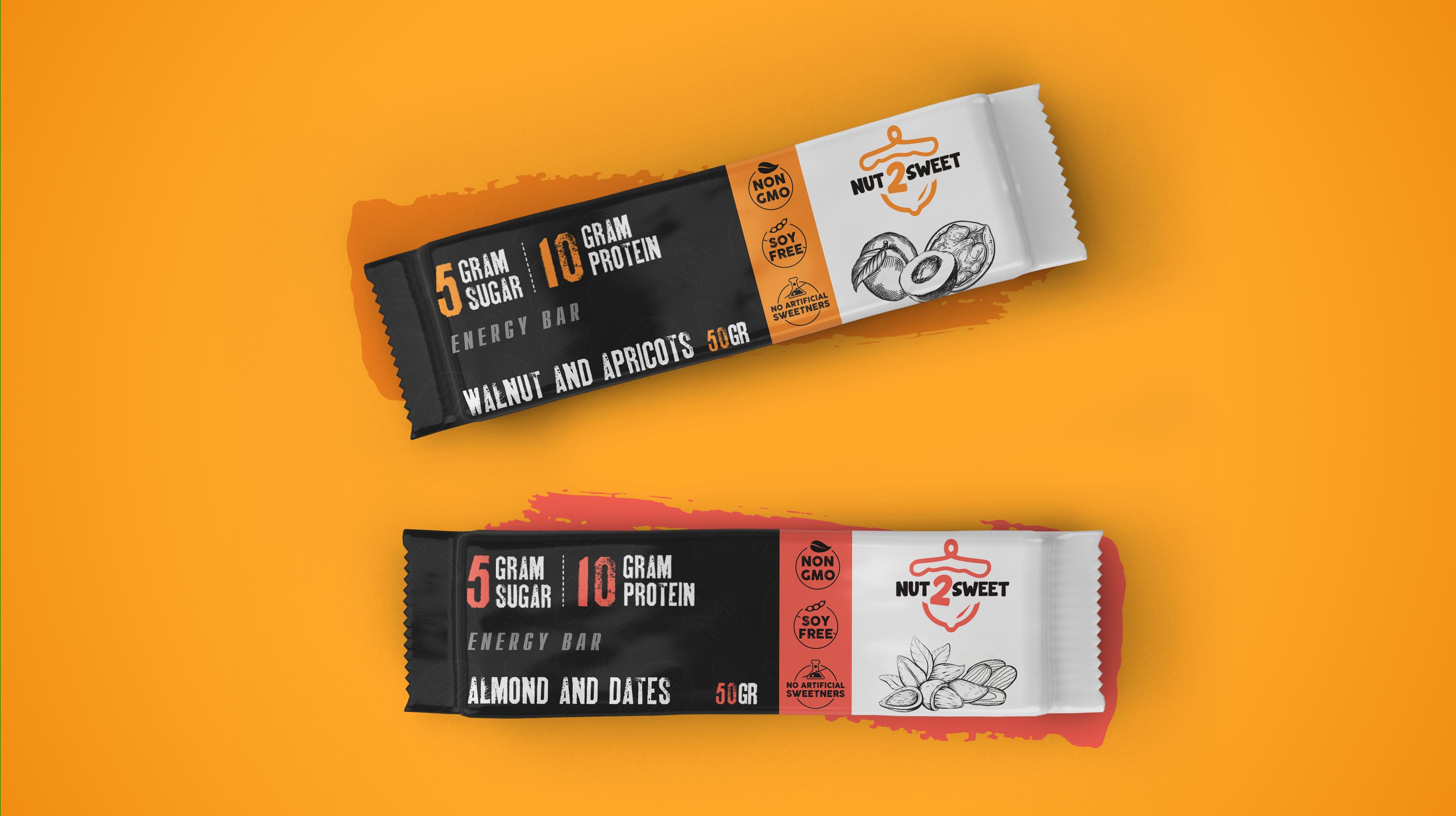 NUT2SWEET Packaging
