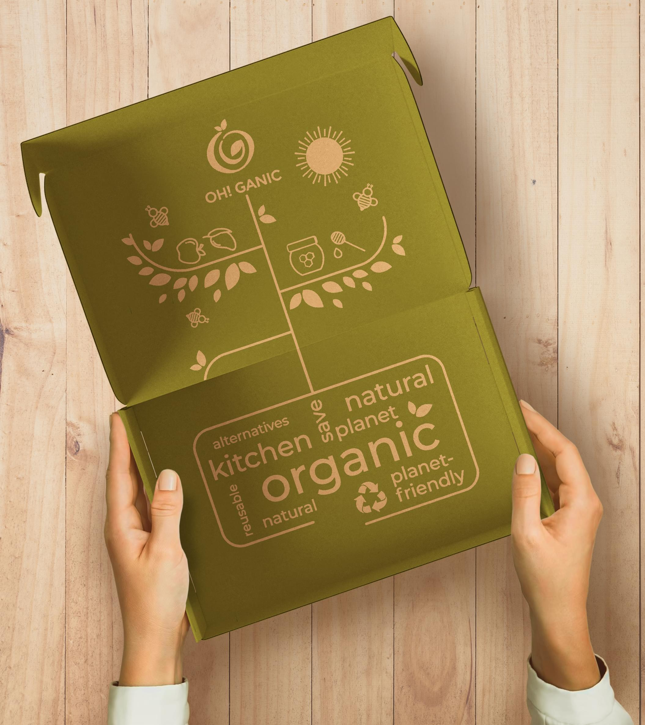 OH! GANIC Packaging