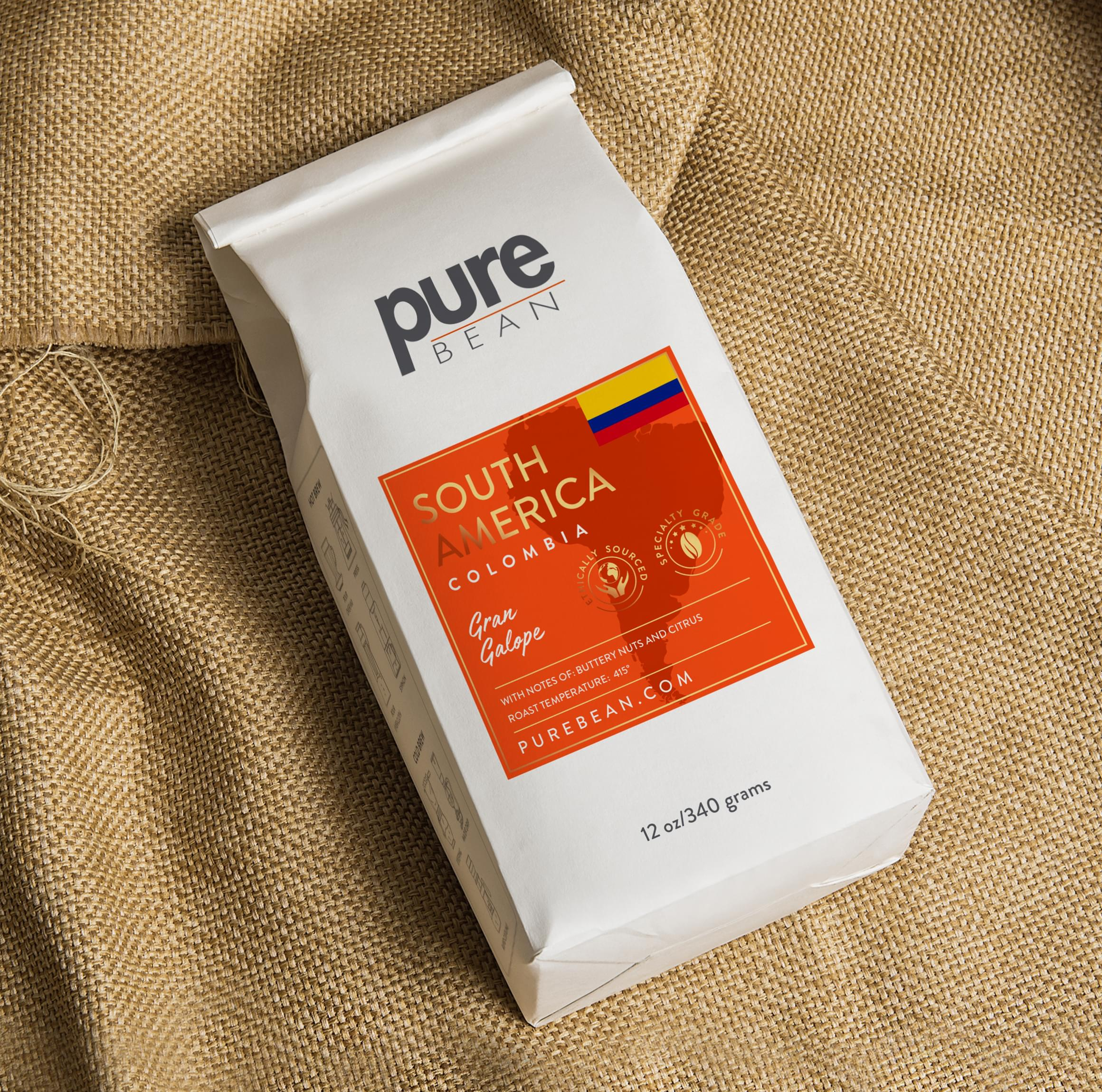 PURE BEAN Packaging