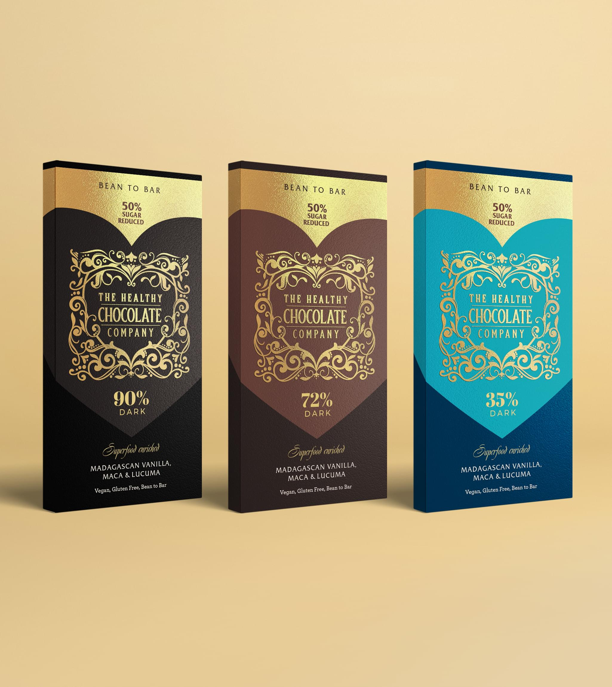 the healthy chocolate Packaging