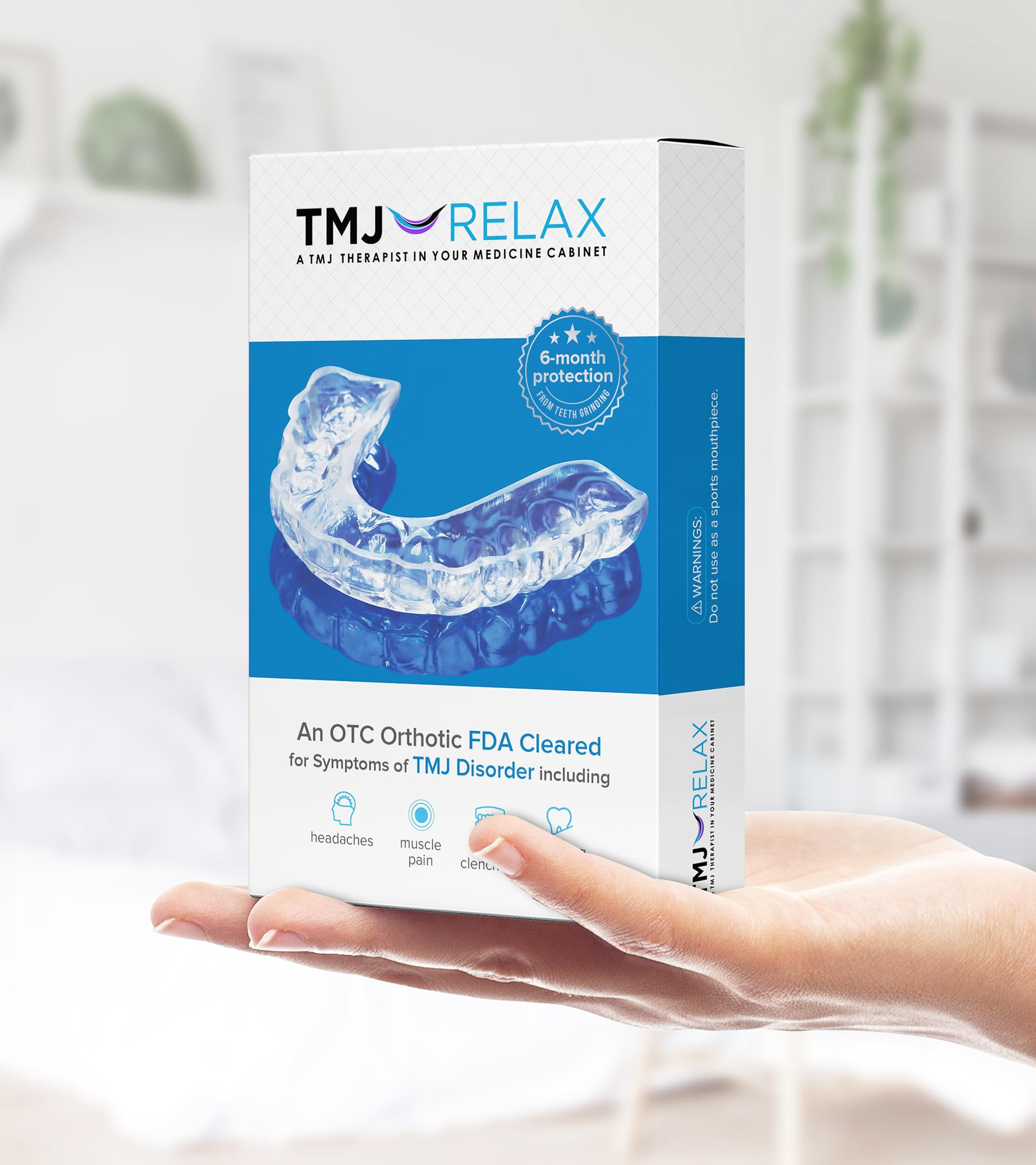 TMJ RELAX Packaging
