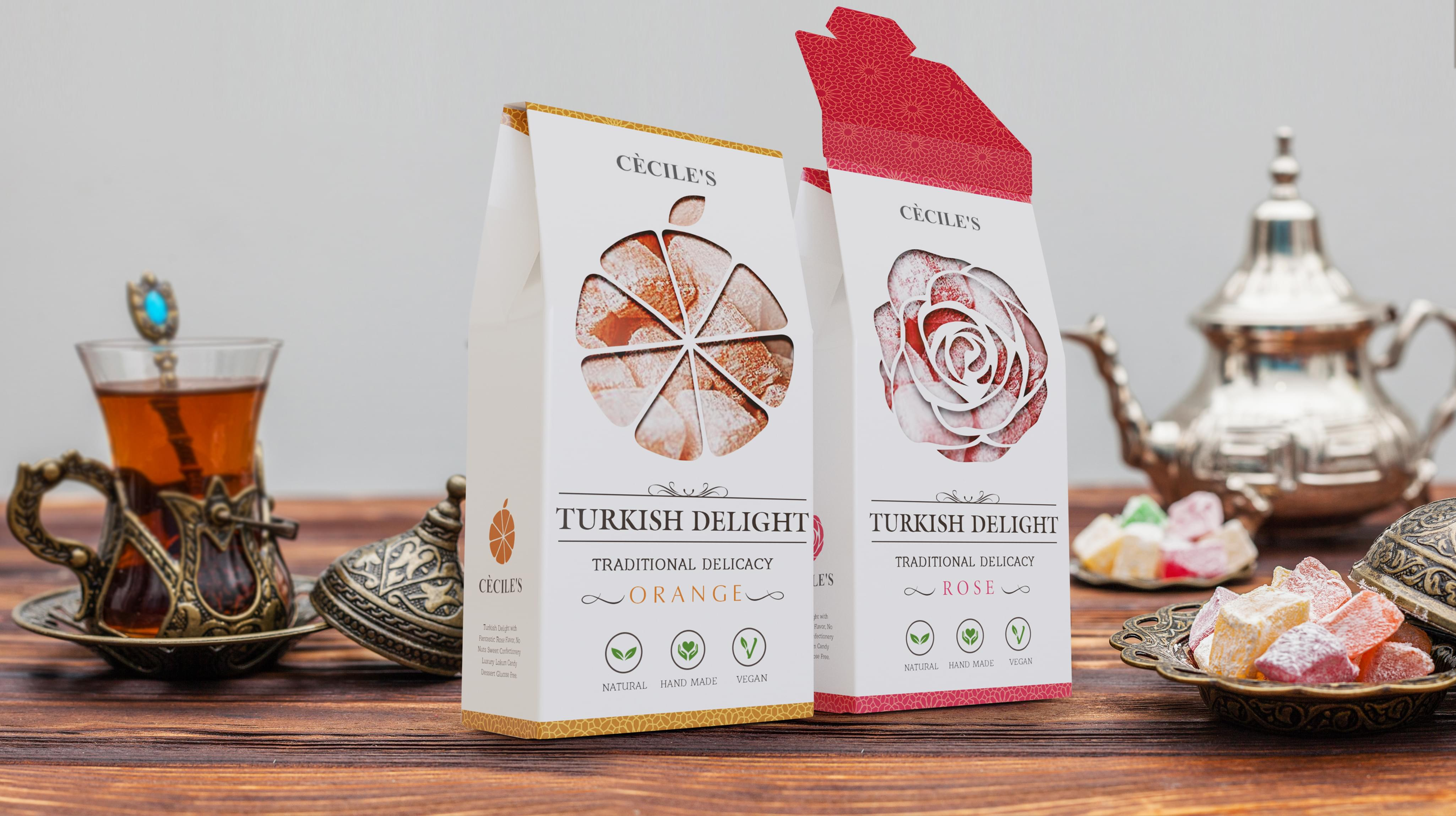 CECILE'S Packaging
