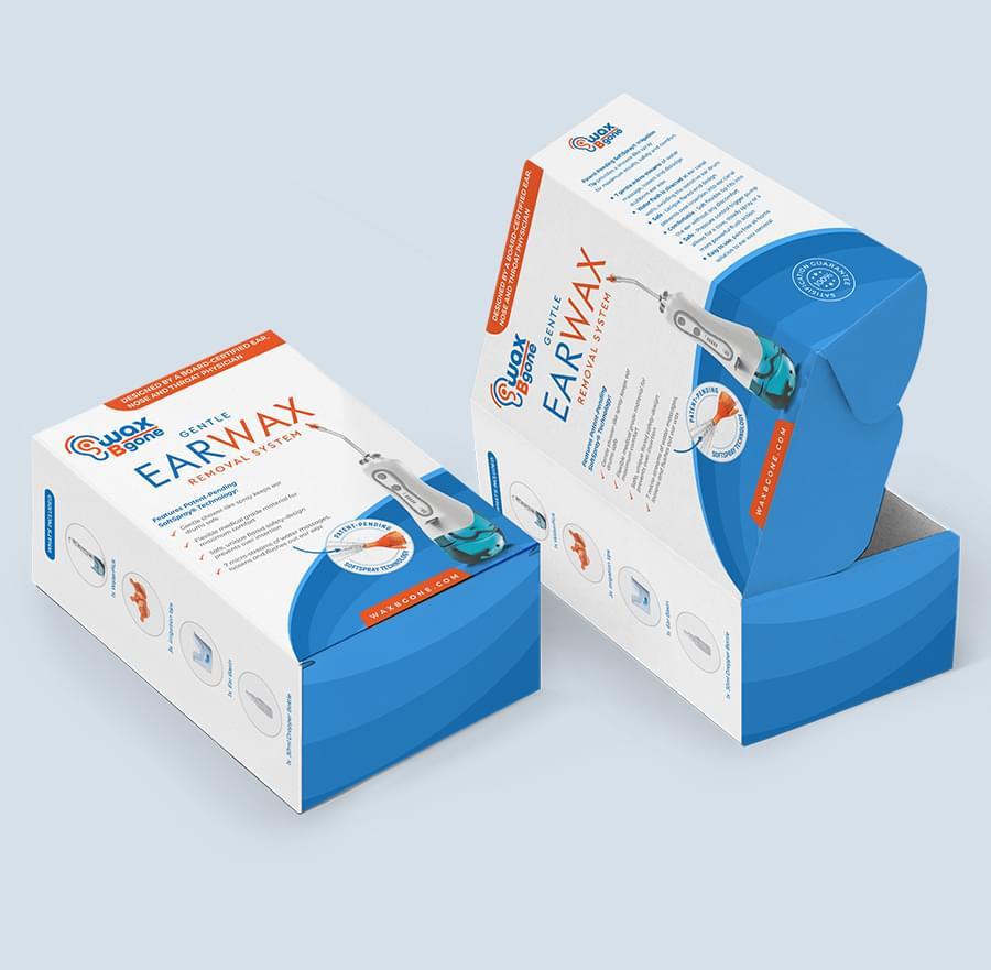 WAXBGONE Packaging